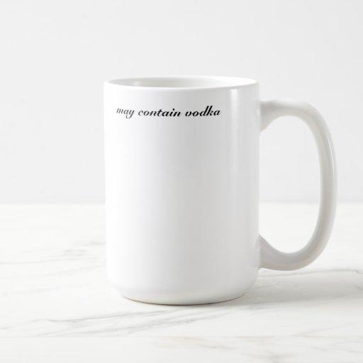 may contain vodka mugs