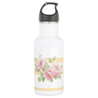 May Day Summer Roses buttercup 532 Ml Water Bottle