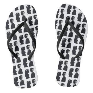 May December Flip Flops