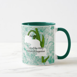 May flower Lily of the Valley Mug