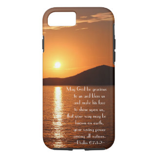 May God be Gracious to Us and Bless Us Psalm 67 iPhone 8/7 Case
