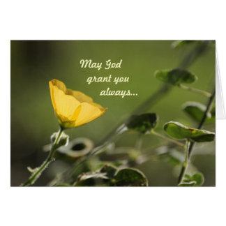 May God grant you.... Card