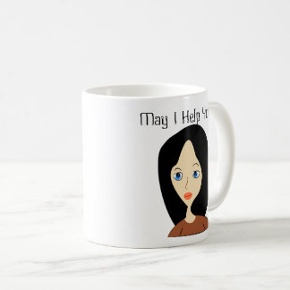 May I Help You Coffee Mug