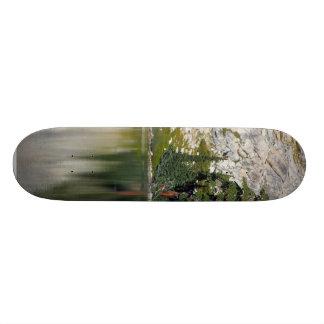May Lake Reflectionsin Yosemite National Park Skate Board Deck