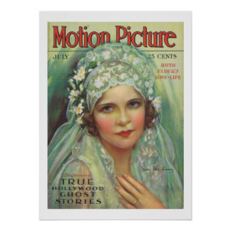 May McAvoy Vintage Movie Magazine Cover Print