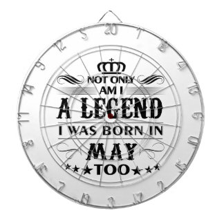 May month Legends tshirts Dartboard