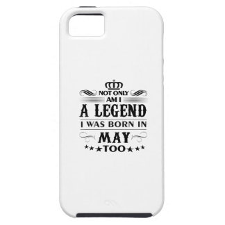 May month Legends tshirts iPhone 5 Cases