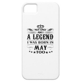 May month Legends tshirts iPhone 5 Covers
