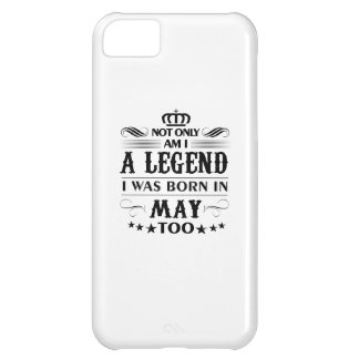May month Legends tshirts iPhone 5C Case