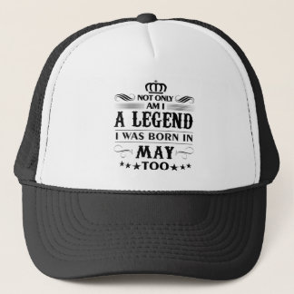 May month Legends tshirts Trucker Hat
