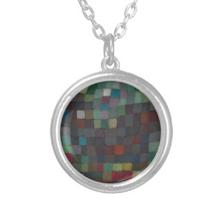 May Picture Silver Plated Necklace
