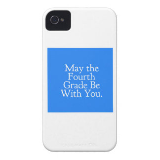 May the 4th Grade be with you Teacher Student Gift Case-Mate iPhone 4 Case
