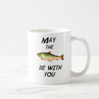 May the Fish be with you Coffee Mug
