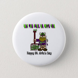 May The Fork Be With You - St. Urho's Day Buttons