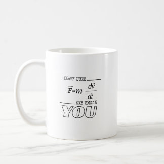 May the Formula Be with You Engineer Funny Physics Coffee Mug