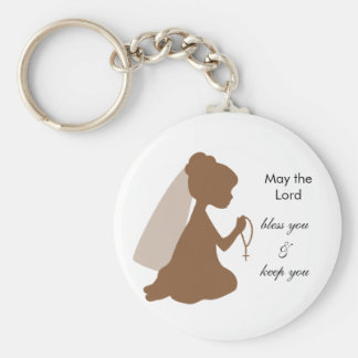 May the Lord Basic Round Button Key Ring