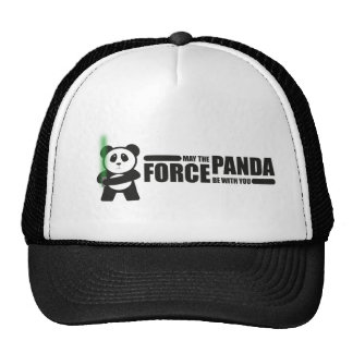 May the panda Force be with you Trucker Hat