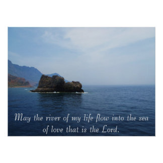 May the river of my life flow into the sea of love poster