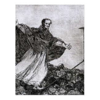 May the rope break by Francisco Goya Postcard