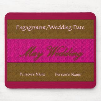 May Wedding Mousepad -Customizable Mouse Pad