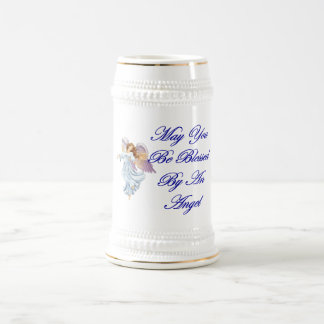 May You Be Blessed By An Angel Beer Steins