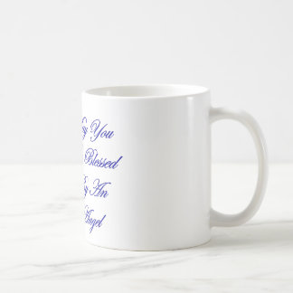 May You Be Blessed By An Angel Coffee Mugs