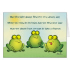 May You Never Find Frogs In Your Underpants Card