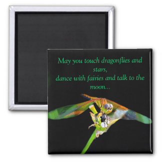 May You Touch Dragonflies Refrigerator Magnets