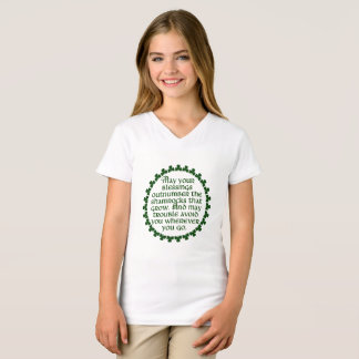 May your blessings outnumber the shamrocks, Irish T-Shirt