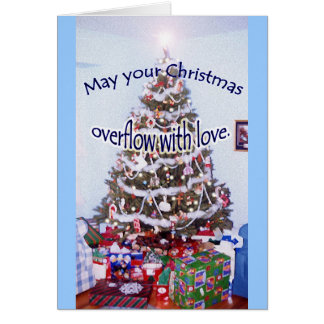 """""""May your Christmas..."""" special friend card"""