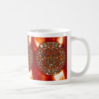 maya aztec calendar mugs