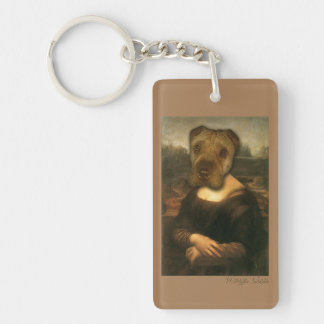 Maya Lisa - Classic Beauty Sharpei KeyChain