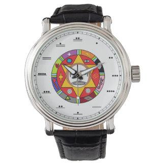 Maya Number Watch