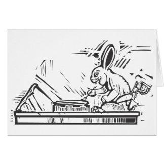 Maya Rabbit Scribe Card