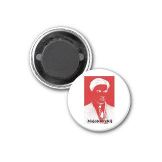 Mayakovsky 3 Cm Round Magnet
