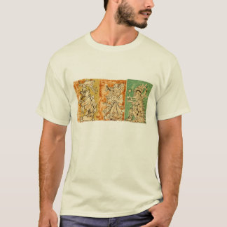 Mayan 3 Panel T-Shirt