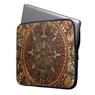 Mayan and Aztec Calendar by Grassrootsdesigns4u! Laptop Computer Sleeve