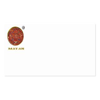 Mayan art pack of standard business cards