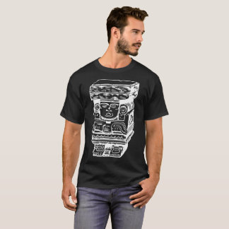 Mayan Artifact Inverse Illustration T-Shirt