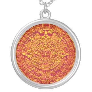 Mayan / Aztec Calendar Necklace