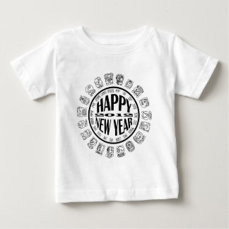 mayan cal-new year baby T-Shirt