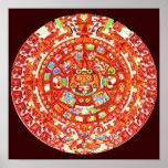 Mayan Calendar 2012 Design Poster Print