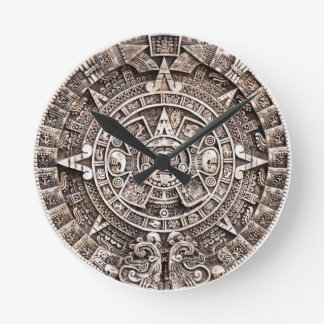 Mayan Calendar 2012 end of the world prophesy Round Clock