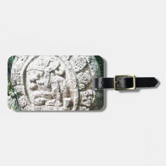 Mayan Calendar Bag Tag