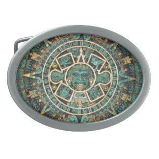 Mayan Calendar Belt Buckles