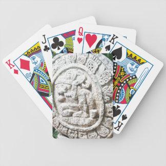 Mayan Calendar Bicycle Playing Cards