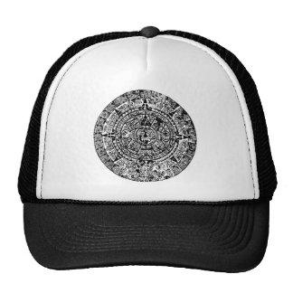 Mayan Calendar Black Trucker Hat