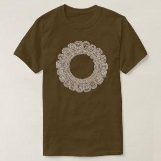 Mayan Calendar Brown T-Shirt
