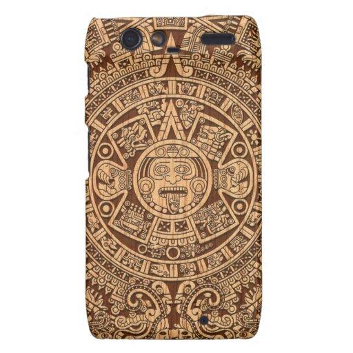 Mayan Calendar Motorola Droid RAZR Covers