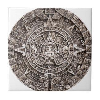 Mayan Calendar Ceramic Tile